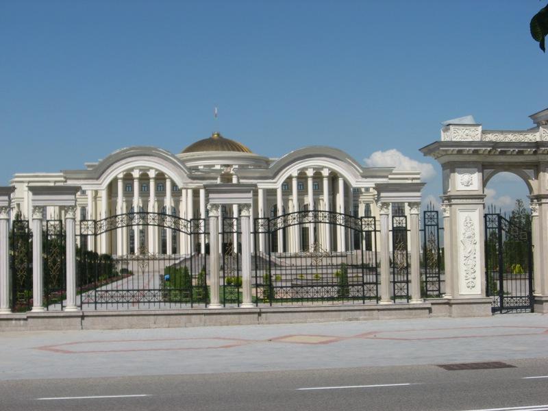 Душанбе. Дворец наций.