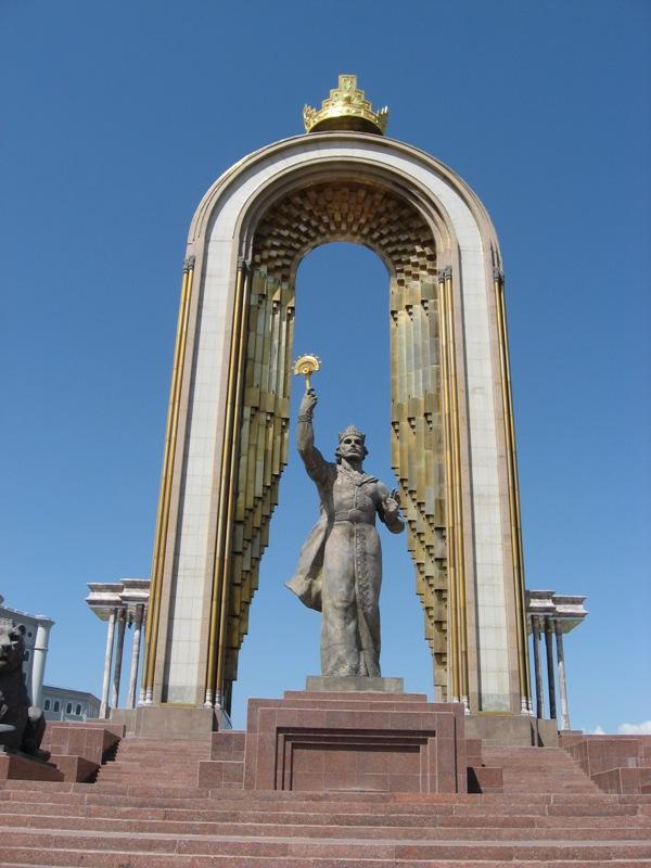 Душанбе. Мемориальный комплекс основателю Таджикистана И.Сомони