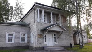 Дом Кучевского.Квартал исторической застройки Петрозаводска