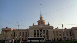 Петрозаводск. ЖД вокзал