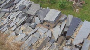 Камни Карелии - габбро-диабаз