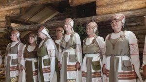 Вепсский народный хор с.Шелтозеро Карелия