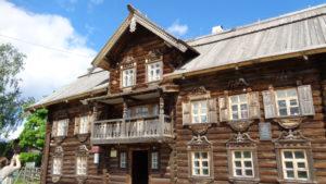 Шелтозерский вепсский этнографический музей. Карелия