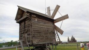 Кижи. Ветряная мельница Биканина